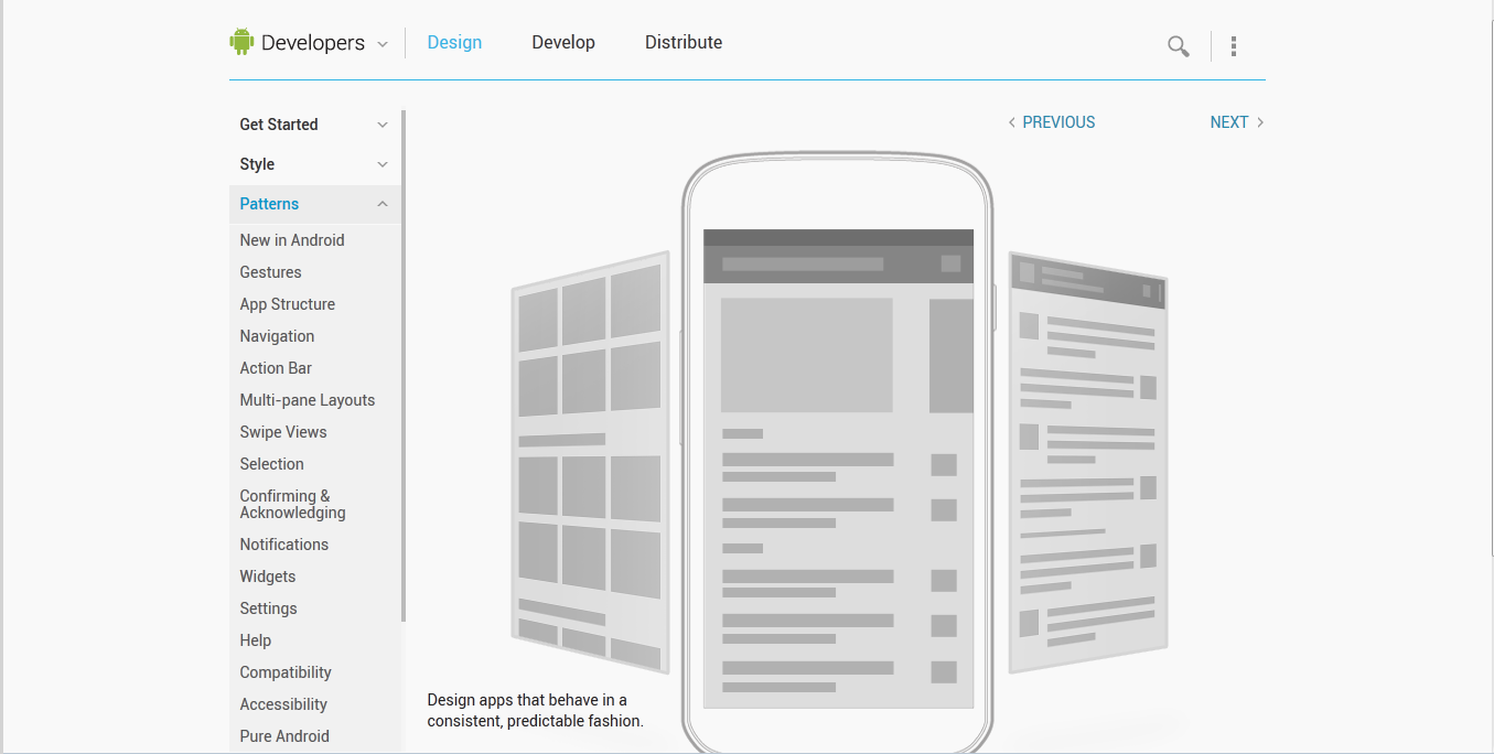 UI Patterns for iOS, Android and Windows phone | UX TO GO